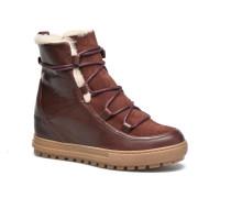 Laponwarm Stiefeletten & Boots in weinrot