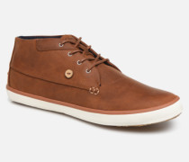 Wattle Leather C Sneaker in braun