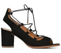 Discow Girl #5 Sandalen in schwarz
