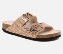 Arizona Cuir Soft Footbed Clogs & Pantoletten in goldinbronze