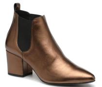 VmNice leather boot Stiefeletten & Boots in goldinbronze