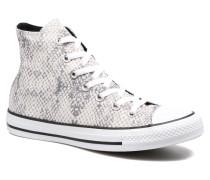Chuck Taylor All Star Lurex Snake Hi Sneaker in weiß