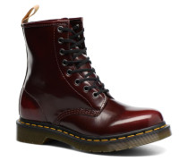 Vegan 1460 Stiefeletten & Boots in rot