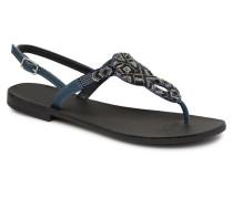 Carmen leather sandal Sandalen in blau