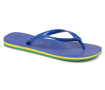 Brasil Layers Zehensandalen in blau