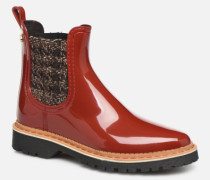 Iza Stiefeletten & Boots in rot