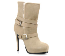 Lizzie Stiefeletten & Boots in beige