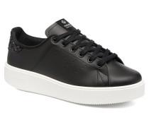 Deportivo Piel Sneaker in schwarz