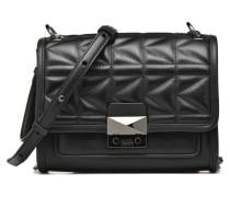 Kuilted Mini Handbag Handtasche in schwarz