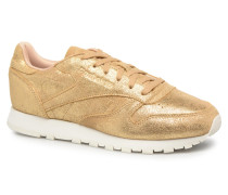 ClassicLeather Shimmer Sneaker in goldinbronze