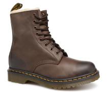 1460 F Stiefeletten & Boots in braun