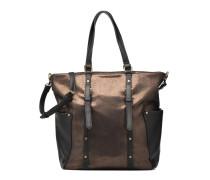 BATI Cabas Handtasche in goldinbronze