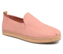 Deconstructured Alpargata Cork Espadrilles in rosa