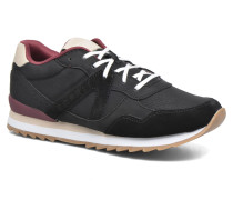 Astro Lace Up Sneaker in schwarz