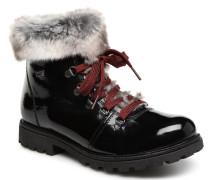 Malika D7495 Stiefeletten & Boots in schwarz