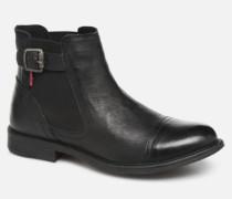 Levi's MAINE W CHELSEA Stiefeletten & Boots in schwarz