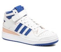 Forum Mid (Wrap) Sneaker in weiß