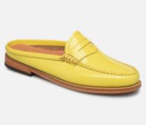 WEEJUN WMN Penny Slide Wheel Slipper in gelb
