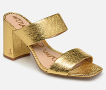 Delaney Clogs & Pantoletten in goldinbronze