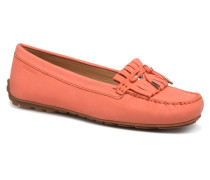 Harper Kiltie Tie Slipper in orange