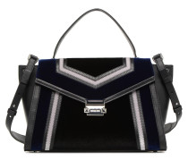 Whitney LG TH Satchel Bag Handtasche in schwarz