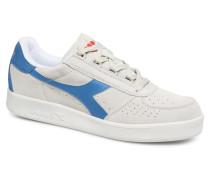 B.Elite Suede Sneaker in weiß