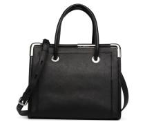 KROCKY SAFFIANO TOTE Handtasche in schwarz