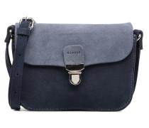 Bea Suede Small Shoulder Bag Handtasche in blau