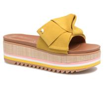 Ranban Clogs & Pantoletten in gelb