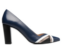 Snow Disco #6 Pumps in blau