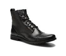 Levi's Maine Lace Up Stiefeletten & Boots in schwarz