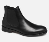 SLHLOUIS LEATHER CHELSEA BOOT B NOOS Stiefeletten & Boots in schwarz