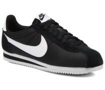 Classic Cortez Nylon Sneaker in schwarz
