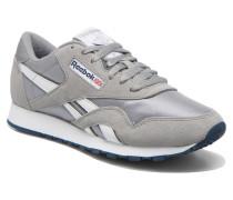 Classic Nylon Sneaker in grau