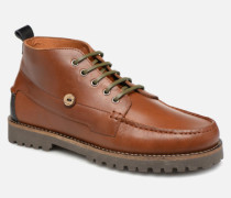 Larchmid Stiefeletten & Boots in braun