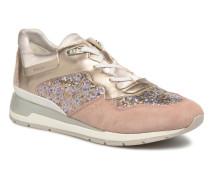 D SHAHIRA B1 D62N1B Sneaker in goldinbronze