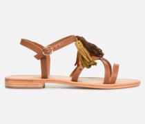 UrbAfrican Plagettes #2 Sandalen in braun