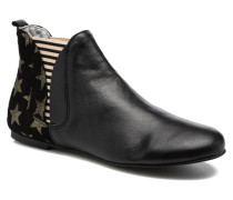 Patch Sky Stiefeletten & Boots in schwarz