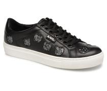 KUPSOLE Choupette Inlay Lace Sneaker in schwarz