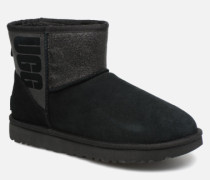 W Classic Mini Sparkle Stiefeletten & Boots in schwarz