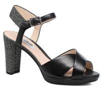 Kendra Petal Sandalen in schwarz