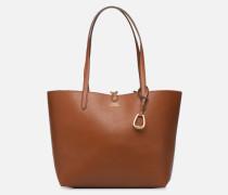 REVERSIBLE TOTE Handtasche in braun