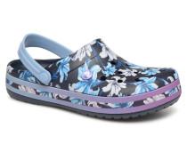 Crocband Graphic III Clog Clogs & Pantoletten in blau