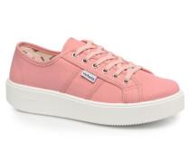 Basket Lona Sneaker in rosa