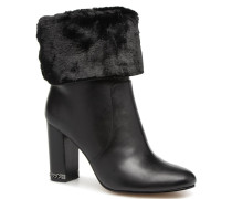 Leila Bootie Stiefeletten & Boots in schwarz