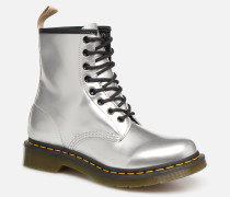 1460 VEGAN W Stiefeletten & Boots in silber