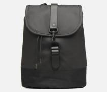 Drawstring Backpack Rucksäcke in schwarz