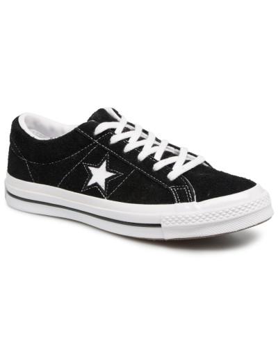 One Star OG Suede Ox W Sneaker in schwarz