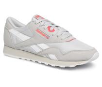 CL NYLON M TXT Sneaker in grau