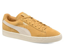 Suede Classic Wn's Sneaker in gelb
